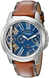 Fossil Men's ME1161 Grant Twist Three Hand Luggage Leather Watch (Small Image)
