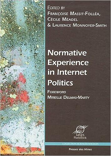 Livres gratuits Normative experience in internet politics epub pdf
