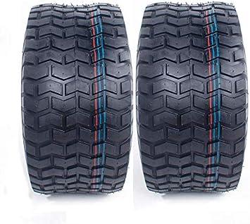 TWO 18X8.50-8 Turf Lawn Trac Master 18X8.50-8 4 P.R Lawn Mower Set Two Tires
