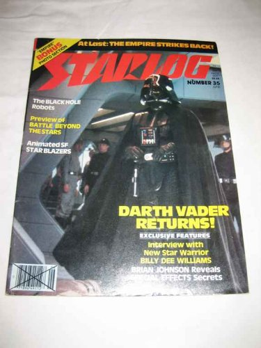 Starlog #35 June 1980 Black Hole Empire Strikes Back Battle Beyond the Stars