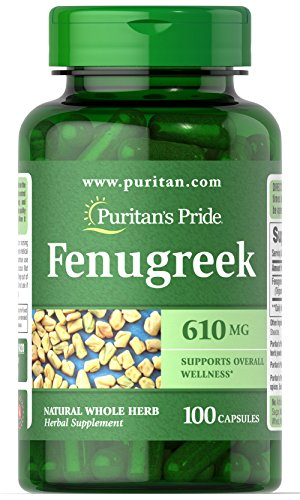 Puritan's Pride Fenugreek 610mg 100 caps