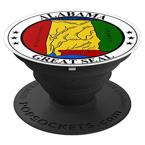 The Great Seal Of The State Of Alabama PopSockets Grip and Stand for Phones and Tablets