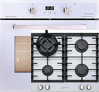 Cocina de gas Juego Autark de Kaiser en color blanco/Kaiser ...