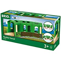 Brio Flexible Tunnel, 3 Pieces Train Set