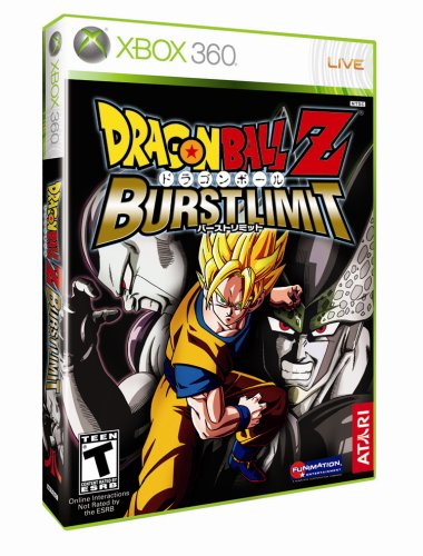 Dragonball Z: Burst Limit - Xbox 360 (Dragon Ball 360 Z Xbox)