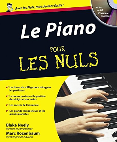 Le Piano pour les Nuls (1CD audio) (French Edition)