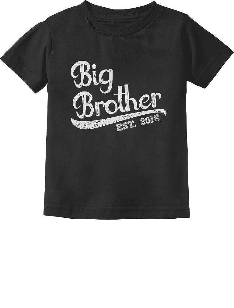 TeeStars - Gift for Big Brother 2018 Toddler/Infant Kids T-Shirt 5/6 Black GtPhtMagm5Plm59M/Z
