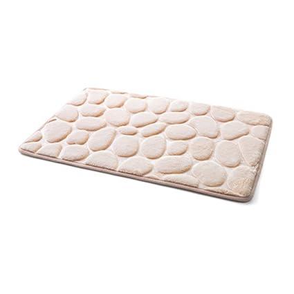 Alfombrilla de baño fabricada en tejido polar coral. Alfombrilla  antideslizante para el baño. Alfrombrillas 5e879a152dbc