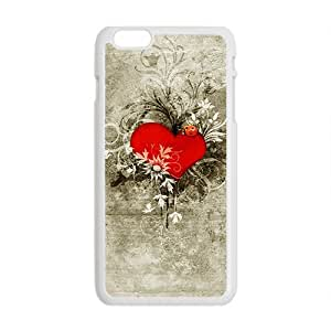Cool Painting Creative Heart Graffiti Custom Protective Hard Phone Cae For Iphone 6 Plus