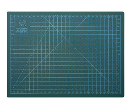 DAFA Professional 24'' x 18'' Self-Healing, Double-Sided Cutting Mat, Rotary Blade Compatible, (36x24), (24x18), (18x12), (12x9) Sizes, for Sewing, Quilting, Arts & Crafts by DAFA
