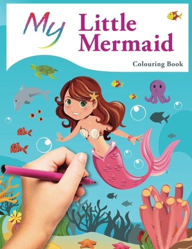 Top 8 Best Adult and Childrens Mermaid Colouring Books 5