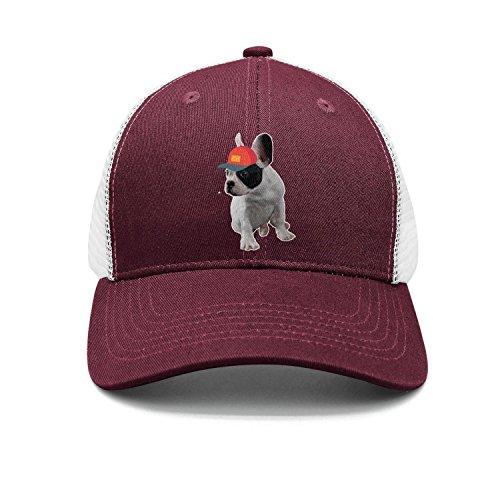 f4ee92aa0a2 French Bulldog with dope Cap Snapbacks Truker Hats caps Unisex Adjustable  Fashio.