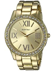 Ellen Tracy Women's ET5190GD Gold Dial Classic Ladies Watch