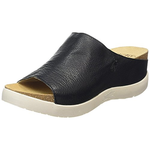 FLY London Wigg672 Women Sandals Black hQ4sk