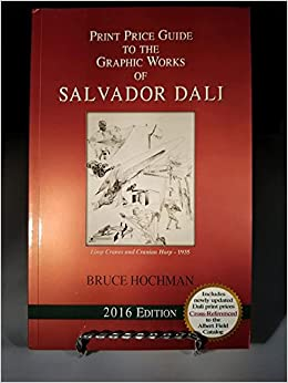 Annual print price guide to the graphic works of salvador dali.