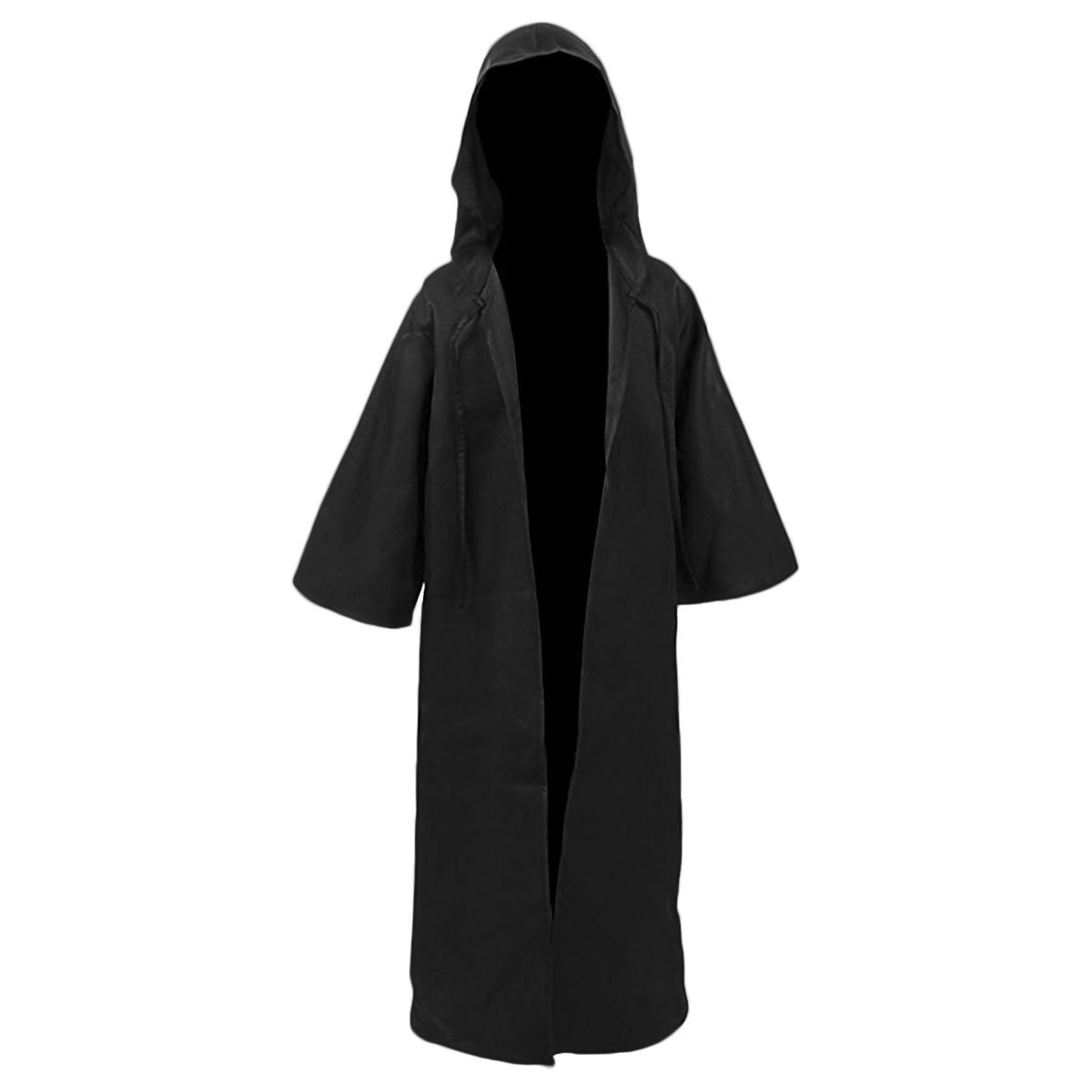 Kids Children Tunic Hooded Robe Cloak Knight Gothic Fancy Dress Halloween Masquerade Cosplay Costume Cape