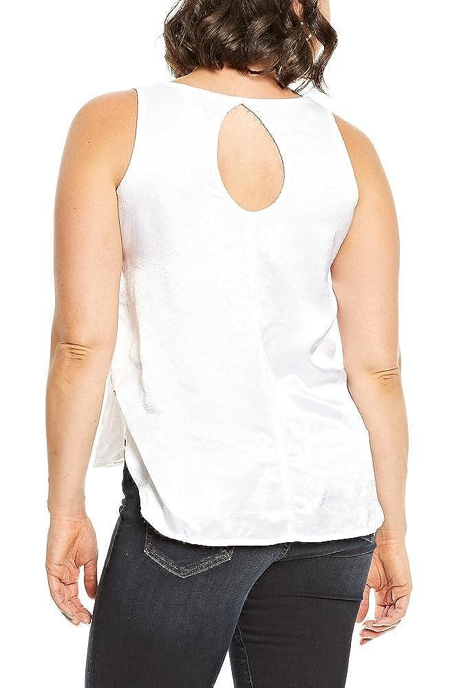 Hard Tail Melissa Tank in White