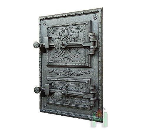 Horno para puerta de hierro fundido h3602: Amazon.es: Jardín