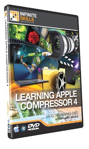 Learning Apple Compressor 4 Training DVD - Tutorial (Mac Compressor)