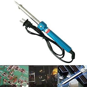 Tiptiper Soldador Eléctrico, Práctico 220 V Eléctrico Desoldador de mano Pistola de Vacío de Acero Dual Kit de Herramientas de Bomba: Amazon.es: Bricolaje y ...