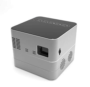 Zhangmin Mini Proyector Portátil, D600 Proyector Oficina HD ...