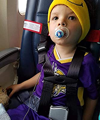 Child Airplane Safety Travel Harness, Child Safety Harness Safety System, Protect Your Child for Airplane Travel Safety- Strictly for Aviation Travel Use Only