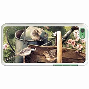 Lmf DIY phone caseCustom Fashion Design Apple iphone 5c Back Cover Case Personalized Customized Diy Gifts In Birds 1 WhiteLmf DIY phone case