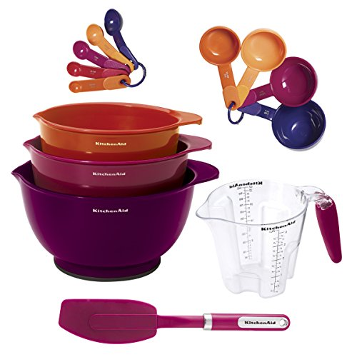 Kitchenaid KC495FPA1A Mix and Measure Baking Tool Set, Assorted