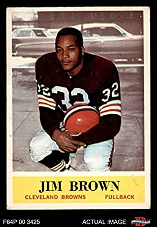 4d9764f3872 1964 Philadelphia   30 Jim Brown Cleveland Browns-FB (Football Card) Dean s  Cards