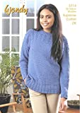 Wendy Ladies Sweater Supreme Knitting Pattern 5714 DK by Wendy