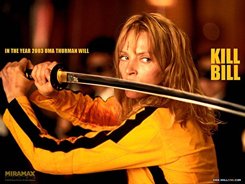 Kill Bill Poster - Kill Bill Halloween Costumes