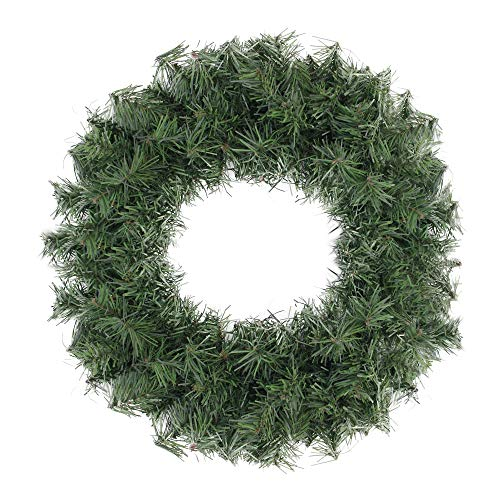"Northlight 20"" Canadian Pine Artificial Christmas Wreath - Unlit"