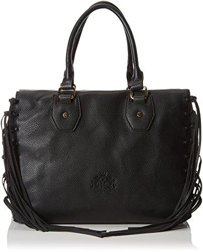 Otto Kern - Shopper, sac à poignée femme noir (noir)