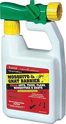 Summit Mosquito and Gnat Barrier Covers 5,000 Square Feet, 32fl.oz. ()