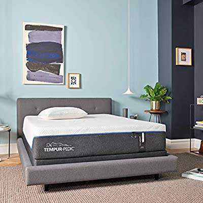 Tempur-Pedic TEMPUR-ProAdapt 12-Inch Soft Cooling Foam Mattress, King, Made in USA, 10 Year Warranty