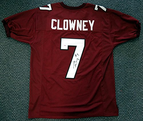 SOUTH CAROLINA GAMECOCKS JADEVEON CLOWNEY AUTOGRAPHED RED JERSEY PSA/DNA ROOKIEGRAPH STOCK #72339