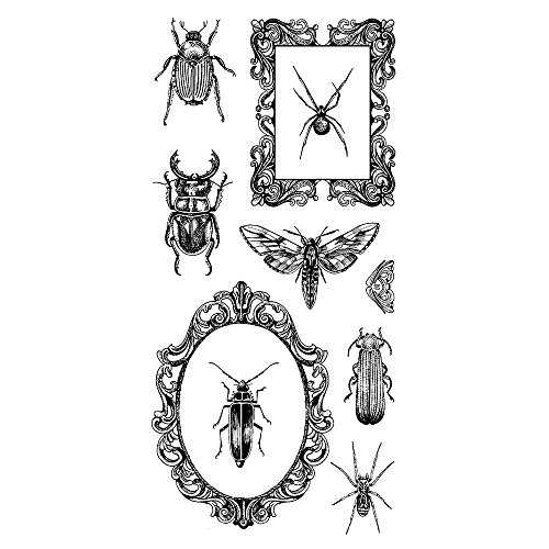 Inkadinkado 60-31334 Beetles & Frames Clear Stamp Set_60-31334 Frames Clear Stamp Set
