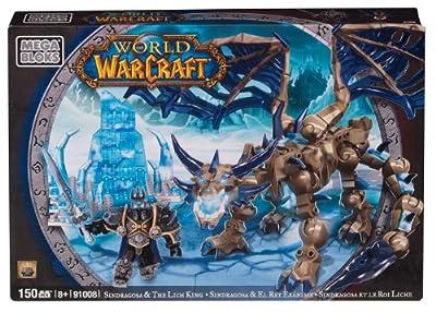 Mega Bloks World Of Warcraft Arthas Sindragosa by Mega Brands America Inc. - Megabloks - Montreal
