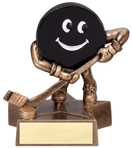 Decade Awards Hockey Lil' Buddy Trophy | Kids Hockey Award | 4 Inch Tall - Customize Now ()