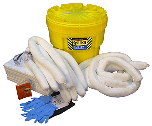 Buffalo Industries (92021) Oil Only Poly-Overpack Spill Kit, 20 Gallon by Buffalo Industries