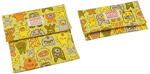 Good Lunch Snack Sack Set/3 Sugarbooger by OrÃ, in Hungry Monster