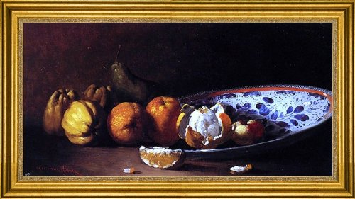 Art Oyster Germain Clement Ribot Nature Morte Aux Fruits - 15.05