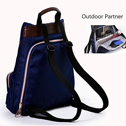 for Waterproof Daypack Backpack Blue Backpack Fashion Rucksack Girls HoHope Casual Bag q1Z8wn