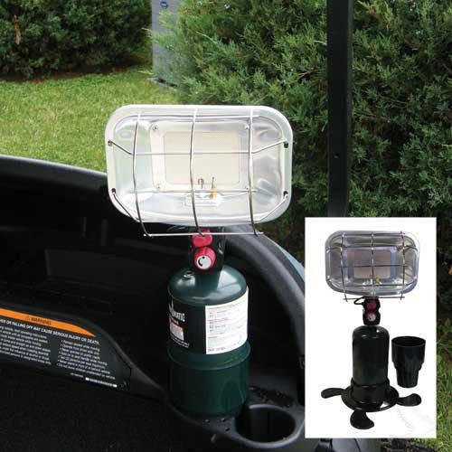 Cozy Golf Cart Bundle Kit - (includes Heater, Blanket & Seat Blanket) by 3G (Image #1)