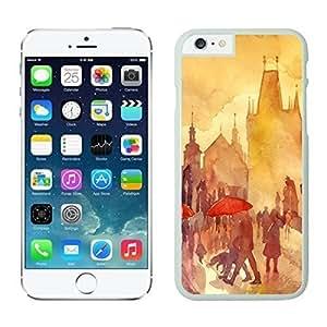 Amazing iphone 5 5s Case es, Diy Art Watercolor Romantic Design White Phone Case Cover for Apple iphone 5 5s