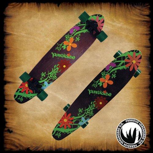 宅配便配送 PARADISE by Complete Flowers Longboard Kicktail Complete Longboard by Paradise B00FUE3T9A, Club Take:6bcba38b --- a0267596.xsph.ru