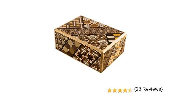 Himitsu Bako - Caja puzzle japonesa (4 sun): Amazon.es: Jardín