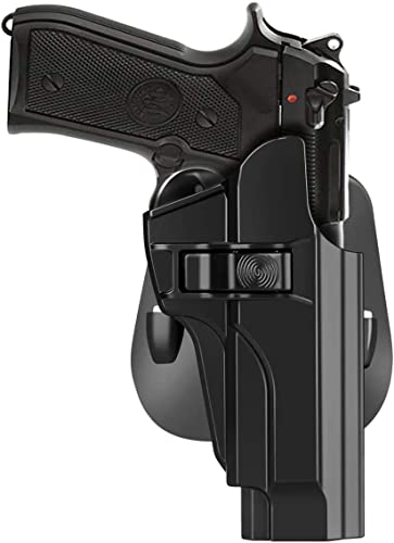 HQDA OWB Tactical Outside Waistband Paddle Holster