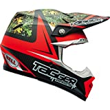 Bell Moto-9 Flex Off Road Motorcycle Helmet (Strapped Yellow/Red, Large) (Non-Current Graphic)