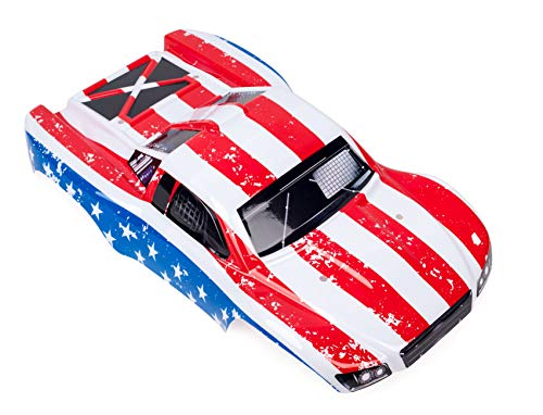 SummitLink Compatible Custom Body Flag Strip Style Replacement for 1/10 Scale RC Car or Truck (Truck not Included) SS-FP-02